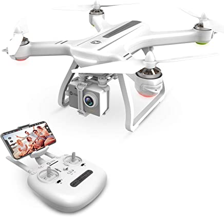 $284 Get Holy Stone HS700 FPV Drone with 1080p HD Camera Live Video and GPS Return Home RC Quadcopter for Adults Beginners with Brushless Motor, Follow Me,5G WiFi Transmission, Fit with GoPro,Color White