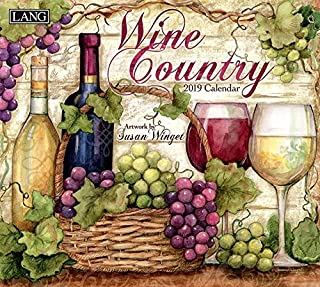 Wine Country 2019 Calendar