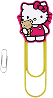 Large Yellow Hello Kitty Novelty Paper Clip