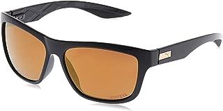 Puma Men's PU0060S PU0060S-009 58 Wayfarer Sunglasses, Black, 58 mm