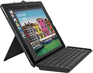 Logitech 罗技 ipad pro 键盘保护套超薄组合可拆卸背光无线键盘和智能连接器