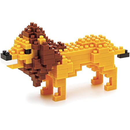 ナノブロック ライオン