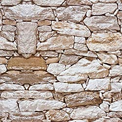 3D Stone Wallpaper Peel and Stick Wallpaper