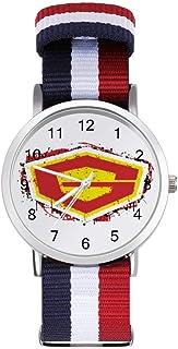 G Force Guardian of Space Leisure - Reloj de pulsera trenzado con escala