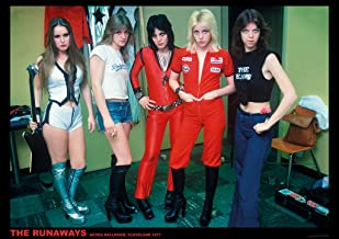The Runaways Cleveland 1977 Photo Band Album Rock Music Vintage Style Cool Wall Decor Art Print Poster 33x23.5