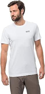 Jack Wolfskin Men's Essential T Single Jersey Organic Cotton-Blend T-Shirt