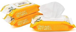 Dhohoo Toallitas de Aseo Para Mascotas, Toallitas de Limpieza Hipoalergénicas para Perros y Gatos, Limpiador de Patas y Or...