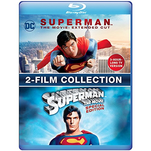 SUPERMAN THE MOVIE: EXTENDED CUT & SPECIAL EDITION - SUPERMAN THE MOVIE: EXTENDED CUT & SPECIAL EDITION (2 Blu-ray)