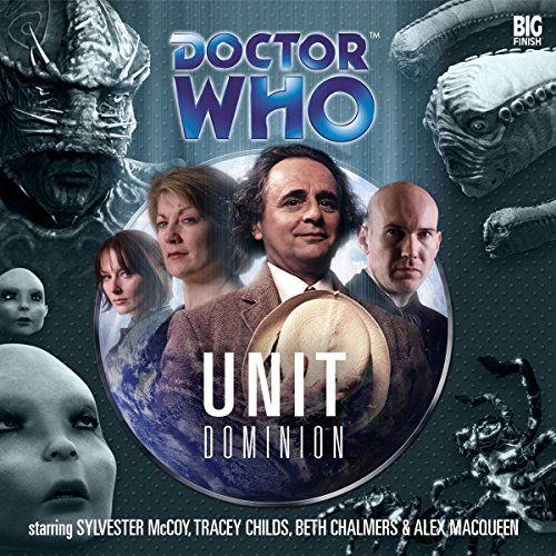 Doctor Who - UNIT Dominion audiobook cover art