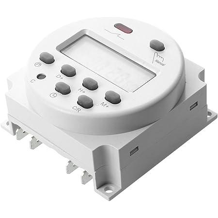 KSTE 12V Digital Temporizador el/éctrico interruptor de control inteligente programable duradero
