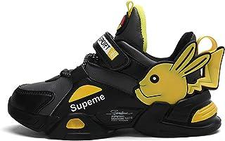 YEMAO Garçons Filles Pokemon Pikachu Baskets Enfants Chaussures de Sport décontractées imperméables Grands Enfants Printem...