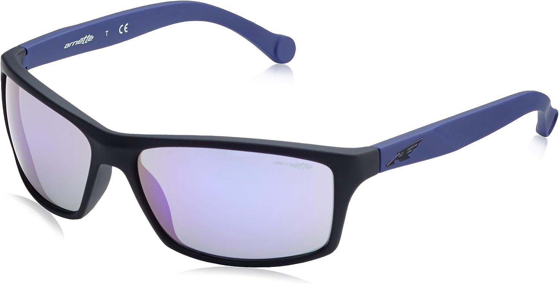 Arnette Sonnenbrille BOILER (AN4207) Noir (Fuzzy Black/Mirrorviolet)