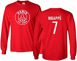 psg red jersey long sleeve