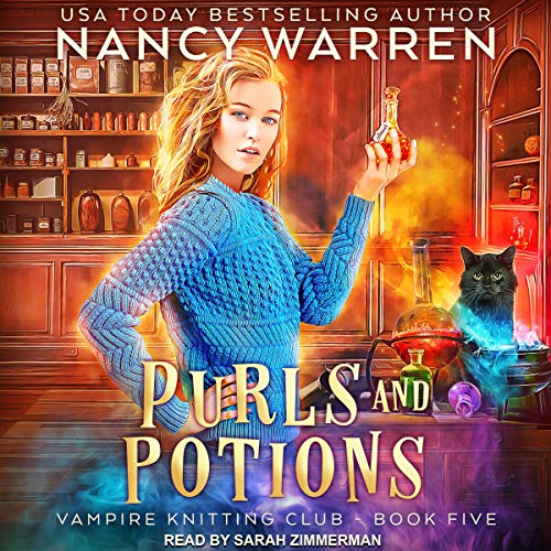 Page de couverture de Purls and Potions