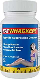 FatWhacker Natural Fat Blocker and Appetite Suppressant Supports Weight Loss 60 Tablets