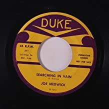searching in vain / johnny brown 45 rpm single