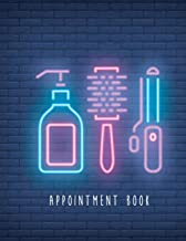 Appointment Book: 8 Columns for Salons Hair Stylists or Other Business Undated 52 Weeks Monday to Sunday with 7am - 9pm Times Daily and Hourly Schedule 15 Minute Interval