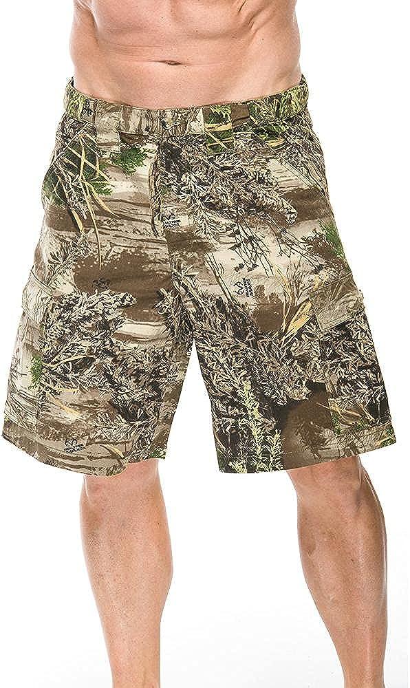 Mooselander - Men's Cargo Shorts in Realtree Max 1 Camo Print