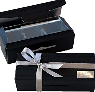 手作りチョコ 用の箱 & ラッピング道具 (リボン&手提げ紙袋付き) (3個入り用)