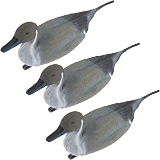 Toygogo 3pcs Duck Decoy Lifelike Pintail Garden Yard Scarer Floating Decoy