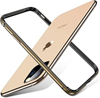 ESR Bumper Case Compatible for iPhone 11 Pro, Metal Frame Armor with Soft Inner Bumper [Zero Signal Interference] [Raised Edge Protection] for iPhone 11 Pro 5.8