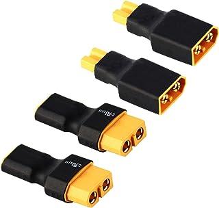 Adaptateur compact MPX /> XT30 ou MPX /> T Plug ou MPX /> XT60 Male Femelle