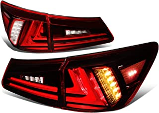 DNA Motoring TL-3DLB-LIS05-RDCL 3D Tube Bar Tail Light/Lamp Red [For 06-13 IS250/IS350]