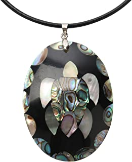 Hiddleston 925 Sterling Silver Clasp Shell Big Turtle Evil Eye Dragonfly Maple Leaf Necklace Jewelry Women 18