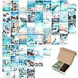 50 carteles de decoración de pared, kit de collage de pared, decoración de pared, decoración de pared, decoración de salón de playa, 50 unidades