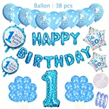Geburtstagsdeko Set Ballons zum 1. Geburtstag