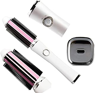 Hair curler Hot Air Styling Brush Ionico, One Step Hair Dryer Rotating Collection Salon Big Hair Pro Volumiser Ceramic 59W 2-in-1