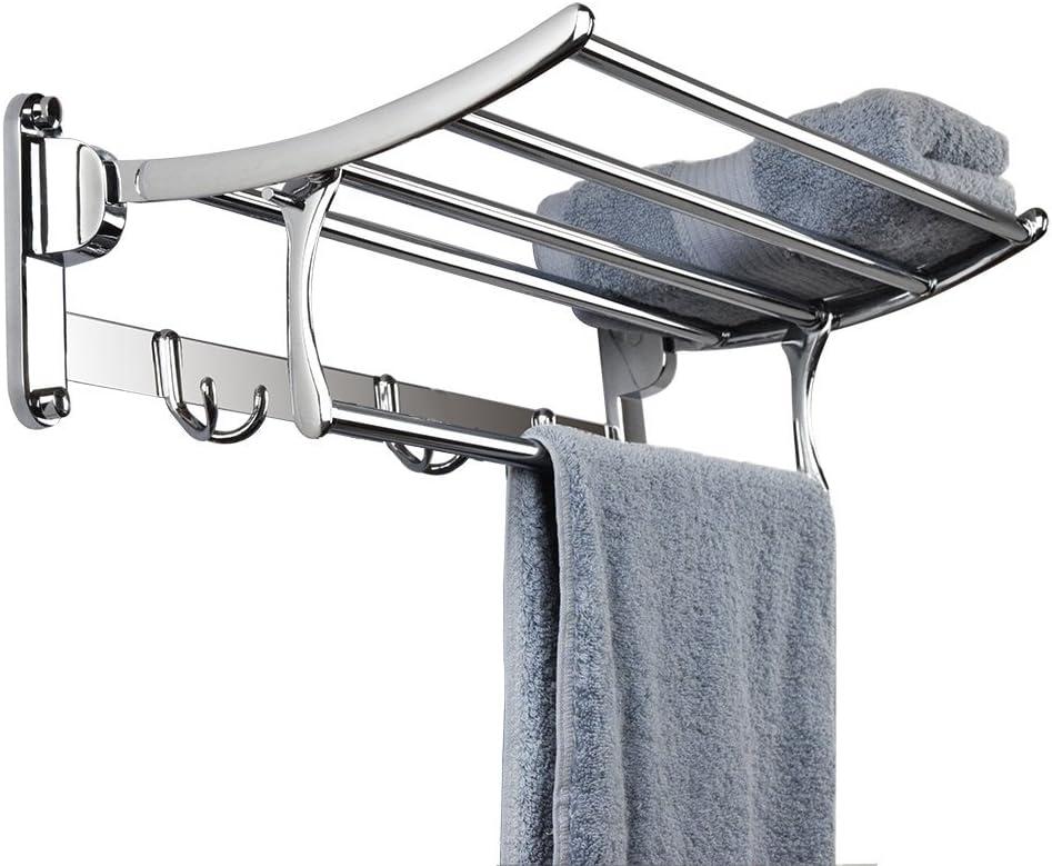 Hamhsin Branded goods Stainless Steel Wall Mounted Large-scale sale Rack Towel Brushed Bathroom
