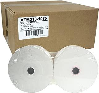 ATM Paper 3-1/8 x 1075, 55g, Sealed 8 Rolls Triton MB 1500 3000 5000 5600 7000D 7400T 7600