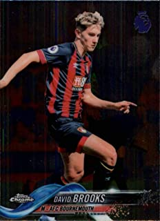 2018-19 Topps Chrome Premier League #87 David Brooks NM-MT AFC Bournemouth Official Soccer Trading Card