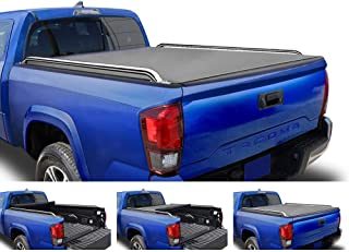 Tyger Auto T2 Low Profile Roll-Up Truck Tonneau Cover TG-BC2T2086 Works with 2005-2015 Toyota Tacoma | Fleetside 5' Bed | for Models with or Without The Deckrail System