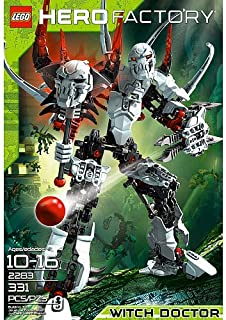 lego hero factory savage planet witch doctor