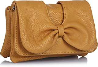 Butterflies Women's Clutch (White) (BNS 2188WC)