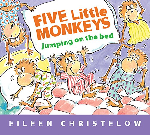 Five Little Monkeys Jumping on the Bed (Padded Board Book) (A Five Little...