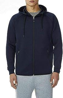 32 DEGREES Men's Hoodie Sweatshirt Full Zip Tech Fleece Track Jacket