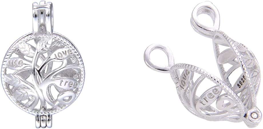 real sliver Made in Italy in 925 sterling silver Gift box   bag available pendant Tree of life highest quality unique 13 mm charm