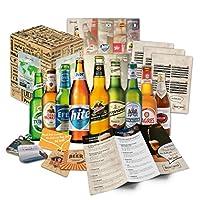 🍻 CADEAU DE NOËL IDÉAL: Ce cadeau de Noël unique comprend 9 bières différentes du monde entier. Les bières viennent par exemple d'Espagne Italie Asie et Amérique du Sud 💥 IDÉE CADEAU DE NOËL: Faites plaisir à votre mari, mari, papa, et offrez ce supe...