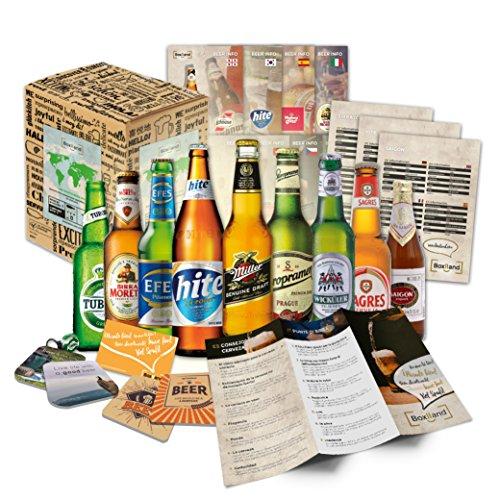 Biere der Welt - Bier Probier Paket - Ostergeschenkidee für Freund, Ostergeschenk für Freund oder ausgefallene Geschenke (9 besondere Biere)