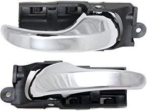 Interior Door Handle compatible with F-150 99-03/F-150 Heritage 04-04 Front Right and Left Side Inside All Chrome