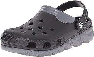 Crocs Duet Sport max - Zuecos de sintético para hombre, negro (black/charcoal), 45/46