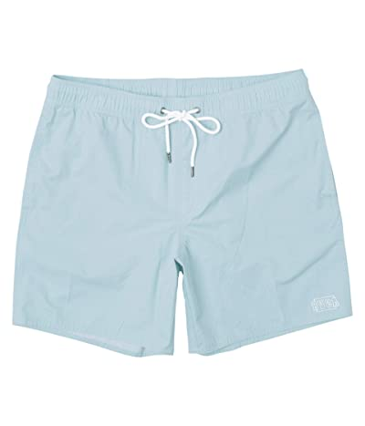 RVCA Opposites Elastic Shorts (Pale Blue) Men