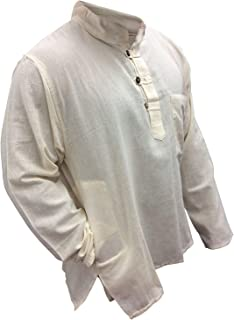 SHOPOHOLIC FASHION Plain Grandad Shirt