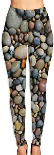 Women's Popular Pebble Stone Printed Brushed Buttery Soft Leggings