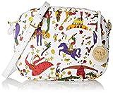 piero guidi Sling Bag, Borsa a Tracolla Donna, Bianco (Neve), 21x16x6 cm (W x H x L)