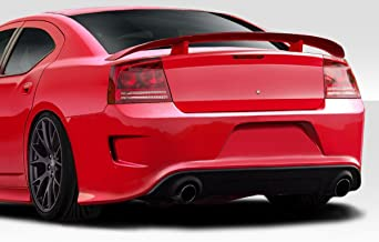 Brightt Duraflex ED-AIO-147 Hellcat Look Rear Bumper - 1 Piece Body Kit - Compatible With Charger 2006-2010
