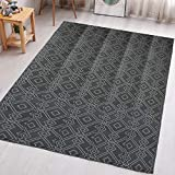 TIDYON Plastic Straw Rug Reversible Mats Large Camping Rugs for Outdoor ,RV, Patio,Camping
